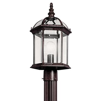 Kichler Lighting 49187TZ One Light Outdoor Post Mount
