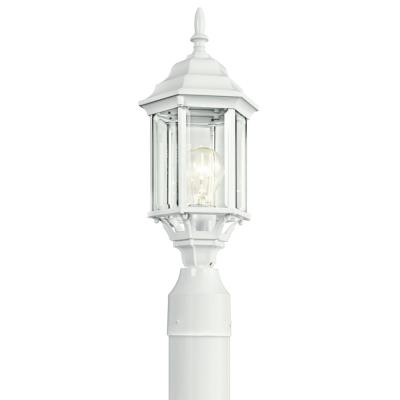 Kichler Lighting 49256WH Chesapeake - One Light Outdoor Post Mount