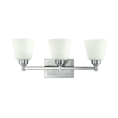Kichler Lighting 5150NI 3 Light Bath Fixture