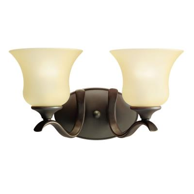 Kichler Lighting 5285OZ Wedgeport - Two Light Bath Fixture
