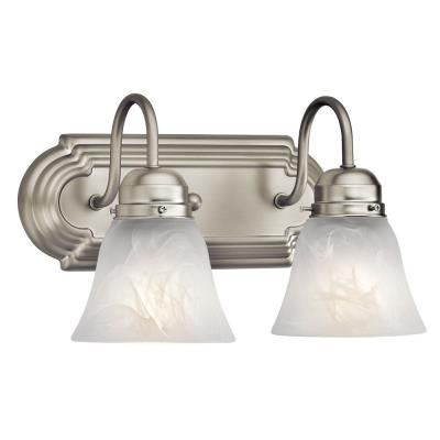 Kichler Lighting 5336NI Two Light Bath Strip