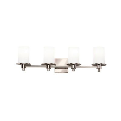Kichler Lighting 5439PN Cylinders - Four Light Bath Fixture