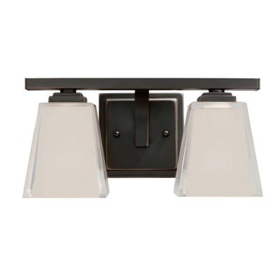 Kichler Lighting 5460OZ Urban Ice - Two Light Bath Fixture