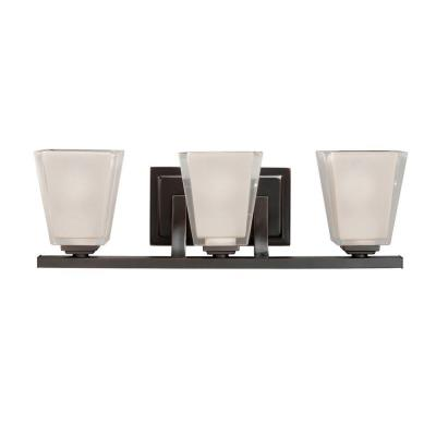 Kichler Lighting 5461OZ Urban Ice - Three Light Bath Fixture
