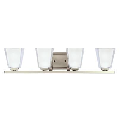 Kichler Lighting 5462AP Urban Ice - Four Light Bath Fixture