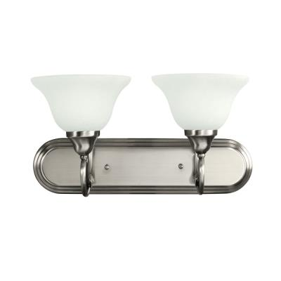 Kichler Lighting 5557AP 2 Light Bath Fixture