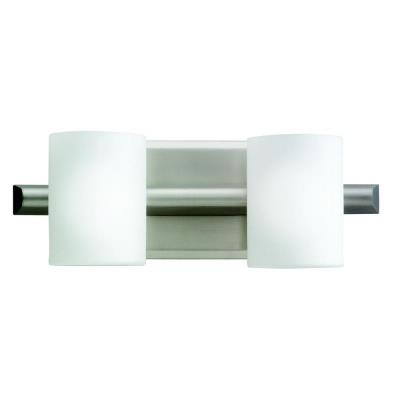 Kichler Lighting 5966NI Tubes - Two Light Bath Bar