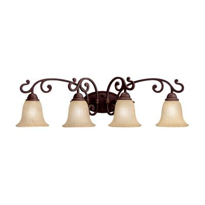 Kichler Lighting 5990CZ Wilton - Four Light Bath Fixture