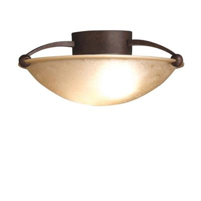 Kichler Lighting 8405TZ Two Light Semi-Flush Mount