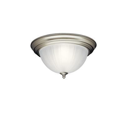 Kichler Lighting 8654NI Two Light Flush Mount
