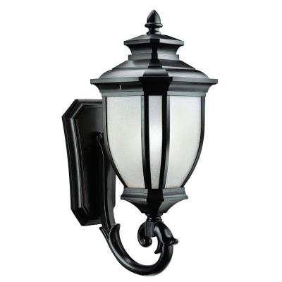 Kichler Lighting 9042BK Salisbury - One Light Outdoor Wall Mount