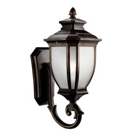 Kichler Lighting 9042RZ Salisbury - One Light Outdoor Wall Mount