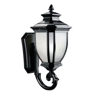 Kichler Lighting 9043BK Salisbury - One Light Outdoor Wall Mount