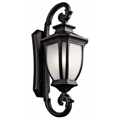 Kichler Lighting 9099RZ Salisbury - Four Light Outdoor X-Large Wall Mount