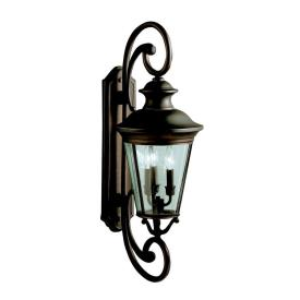 Kichler Lighting 9348OZ Eau Claire - Three Light Outdoor Wall Bracket