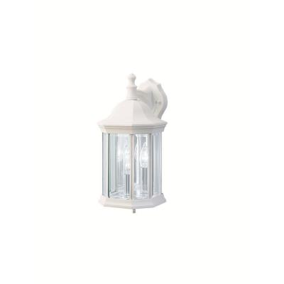 Kichler Lighting 9777WH Chesapeake - Three Light Outdoor Wall Mount