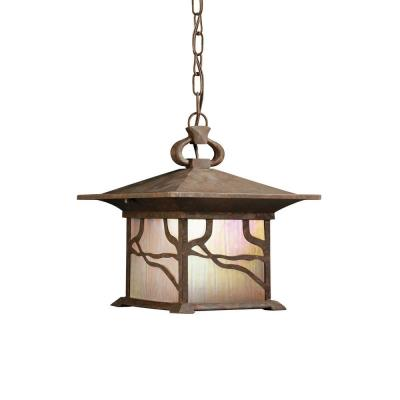 Kichler Lighting 9837DCO Morris - One Light Outdoor Pendant