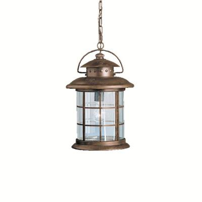 Kichler Lighting 9870RST One Light Outdoor Pendant