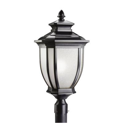 Kichler Lighting 9940BK Salisbury - One Light Outdoor Post Mount
