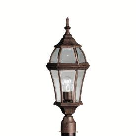 Kichler Lighting 9992TZ Townhouse - One Light Post Mount