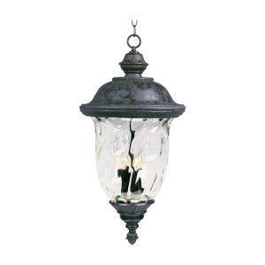 Carriage House VX - Three Light Outdoor Hanging Lantern