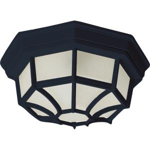 One Light Outdoor Flush Mount