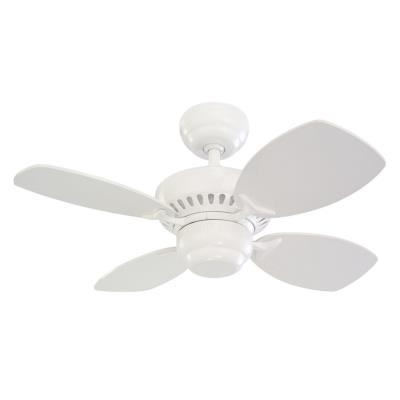 "Monte Carlo Fans 4CO28WH Colony II -28"" Ceiling Fan"