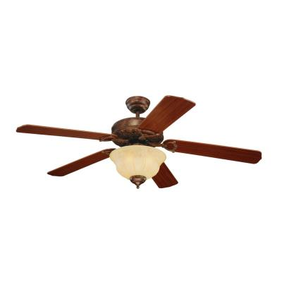 "Monte Carlo Fans 5OR52TBD-L Ornate Elite -52"" Outdoor Ceiling Fan"