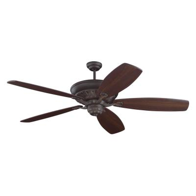 "Monte Carlo Fans 5SIRB St. Ives - 72"" Durango Ceiling Fan - Motor Only"