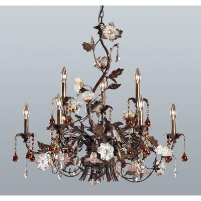 Elk Lighting 85003 Cristallo Fiore Chandelier
