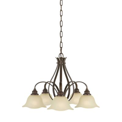 Feiss F2050/5GBZ Morningside - Five Light Chandelier