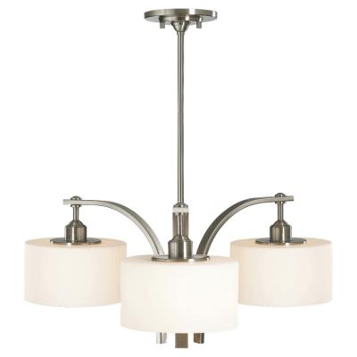 Feiss F2403/3BS Sunset Drive - Three Light Chandelier