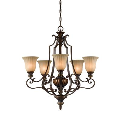 Feiss F2503/5 Kelham Hall - Five Light Chandelier