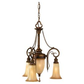 Feiss F2543/3FSV Celine - Three Light Mini-Chandelier