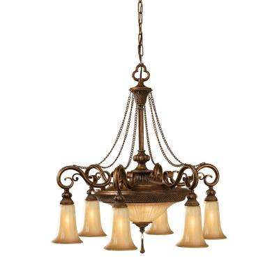 Feiss F2546/6+2FSV Celine - Eight Light Chandelier