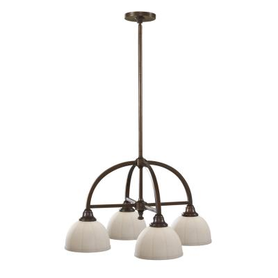 Feiss F2582/4HTBZ Perry - Four Light Chandelier