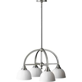 Feiss F2582/4BS Perry - Four Light Chandelier