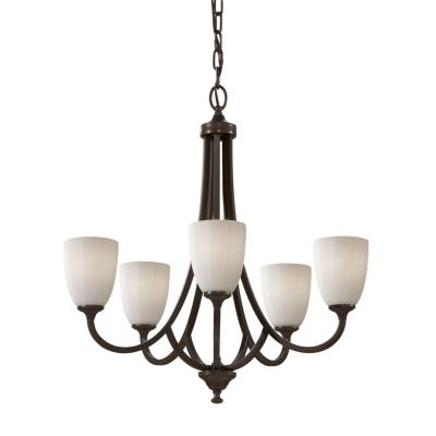 Feiss F2584/5HTBZ Perry - Five Light Chandelier