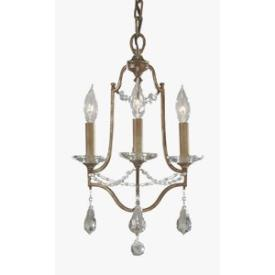 Feiss F2623/3OBZ Valentina - Three Light Chandelier