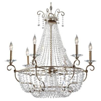Feiss F2708/6BUS Dutchess - Six Light Chandelier