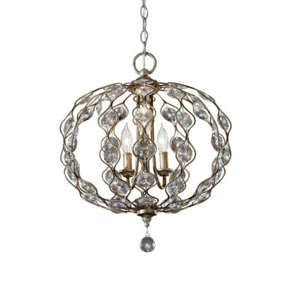 Feiss F2741/3BUS Leila - Three Light Chandelier