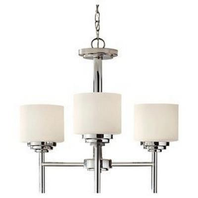 Feiss F2765/3PN Malibu - Three Light Chandelier
