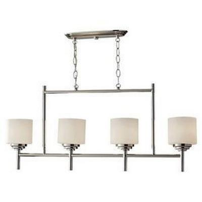 Feiss F2769/4PN Malibu - Four Light Chandelier
