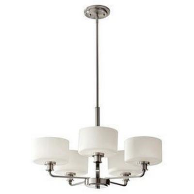 Feiss F2773/5BS Kincaid - Five Light Chandelier