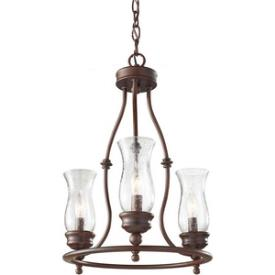 Feiss F2782/3HTBZ Pickering Lane - Three Light Chandelier