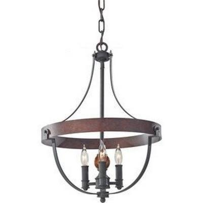 Feiss F2797/3AF/CBA Alston - Three Light Chandelier