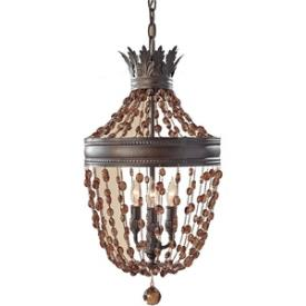 Feiss F2805/3RI Marcia - Three Light Mini Chandelier