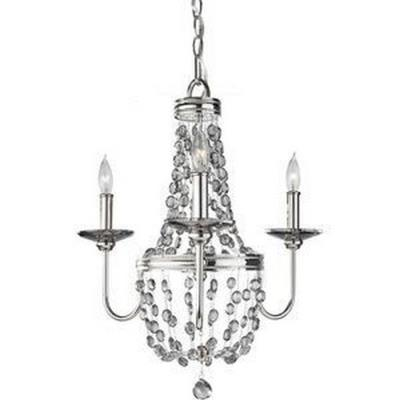 Feiss F2813/3PN Malia - Three Light Mini Chandelier