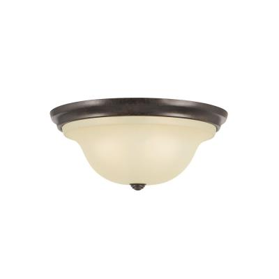 Feiss FM251GBZ Vista - Two Light Flush Mount