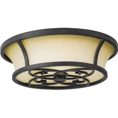 Feiss FM276AF King's Table Collection Flush Mount